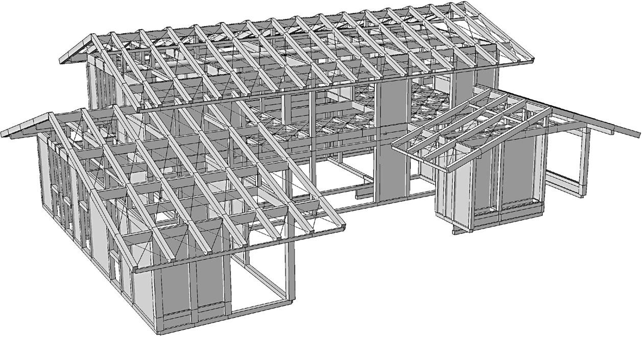 図2 壁モデル(秩父木組みの家プロジェクト「構造計算について」槙田敦より)