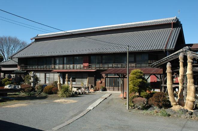 写真6 田島弥平旧宅の主屋